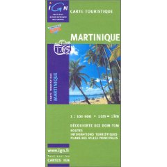 Carte Martinique